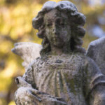 angel at cemetary